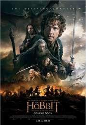 Affiche du film Le Hobbit 3 : la Bataille des Cinq Armées