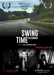 L'affiche du film Swing Time in Limousin