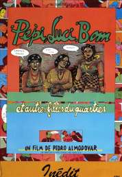 L'affiche du film Pepi, Luci, Bom et autres filles du quartier