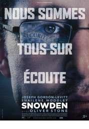 L'affiche du film Snowden