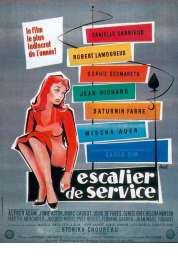 Affiche du film Escalier de Service