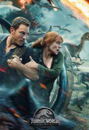 L'affiche du film Jurassic World: Fallen Kingdom