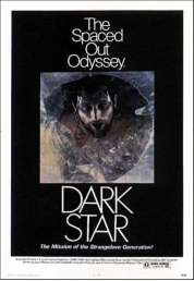 L'affiche du film Dark star