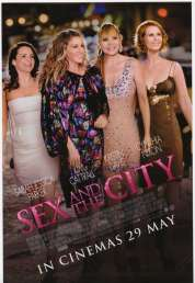 L'affiche du film Sex & the City