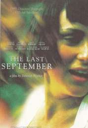 Affiche du film The last september