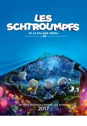 L'affiche du film Les Schtroumpfs et le village perdu