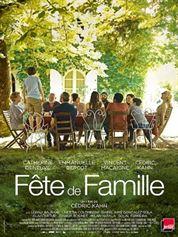 L'affiche du film Fête de famille