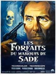 Affiche du film Les Forfaits du Marquis de Sade