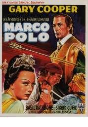 Affiche du film Les Aventures de Marco Polo