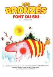 L'affiche du film Les bronzés font du ski