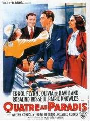 Affiche du film Quatre Au Paradis
