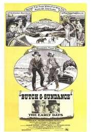 Affiche du film Les joyeux débuts de Butch Cassidy et le Kid