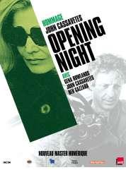L'affiche du film Opening Night