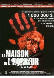 Affiche du film La maison de l'horreur
