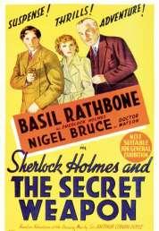 Affiche du film Sherlock Holmes et l'arme Secrete