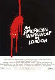 L'affiche du film Le loup garou de londres