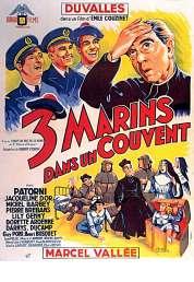 Affiche du film Trois Marins dans Un Couvent