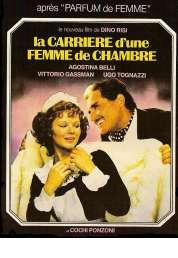 L'affiche du film La Carriere d'une Femme de Chambre