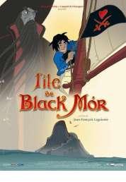 L'affiche du film L'île de Black Mor