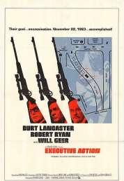 Affiche du film Executive action