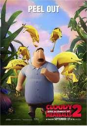 Affiche du film L'île des Miam-nimaux : Tempête de boulettes géantes 2
