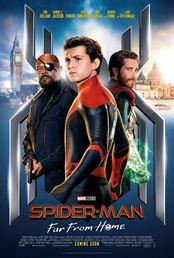 L'affiche du film Spider-Man: Far From Home