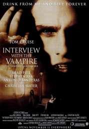 L'affiche du film Entretien avec un vampire