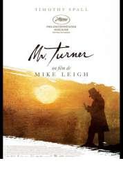 L'affiche du film Mr. Turner