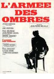 Affiche du film L'armée des ombres