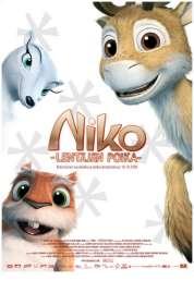 L'affiche du film Niko, le petit renne