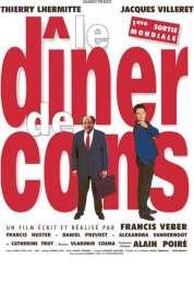 L'affiche du film Le dîner de cons