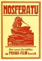 L'affiche du film Nosferatu le vampire