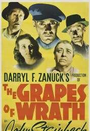 L'affiche du film Les raisins de la colère