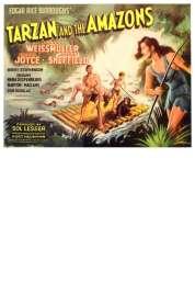 Affiche du film Tarzan et les Amazones