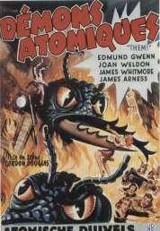 L'affiche du film Les Monstres Attaquent la Ville