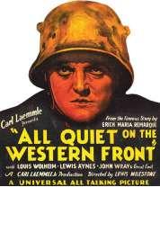 Affiche du film A l'Ouest, rien de nouveau