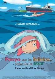 Affiche du film Ponyo sur la falaise