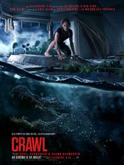 L'affiche du film Crawl