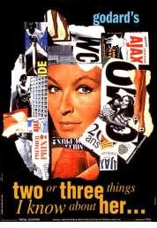 L'affiche du film Deux ou trois choses que je sais d'elle