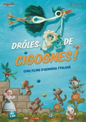 L'affiche du film Drôles de cigognes !