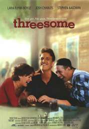 Affiche du film 2 garcons, 1 fille, 3 possibilités