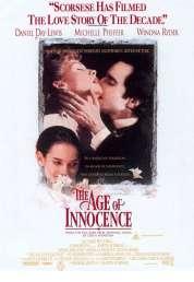 L'affiche du film Le temps de l'innocence