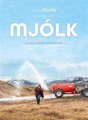 L'affiche du film MJÓLK, La guerre du lait