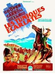 Affiche du film Les tuniques écarlates