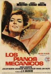 Affiche du film Les Pianos Mecaniques