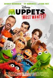Affiche du film Muppets most wanted
