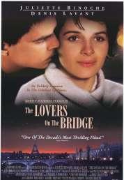 L'affiche du film Les amants du Pont-Neuf