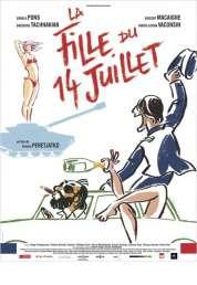 Affiche du film La fille du 14 juillet