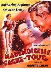 Affiche du film Mademoiselle Gagne Tout