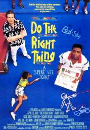L'affiche du film Do the right thing